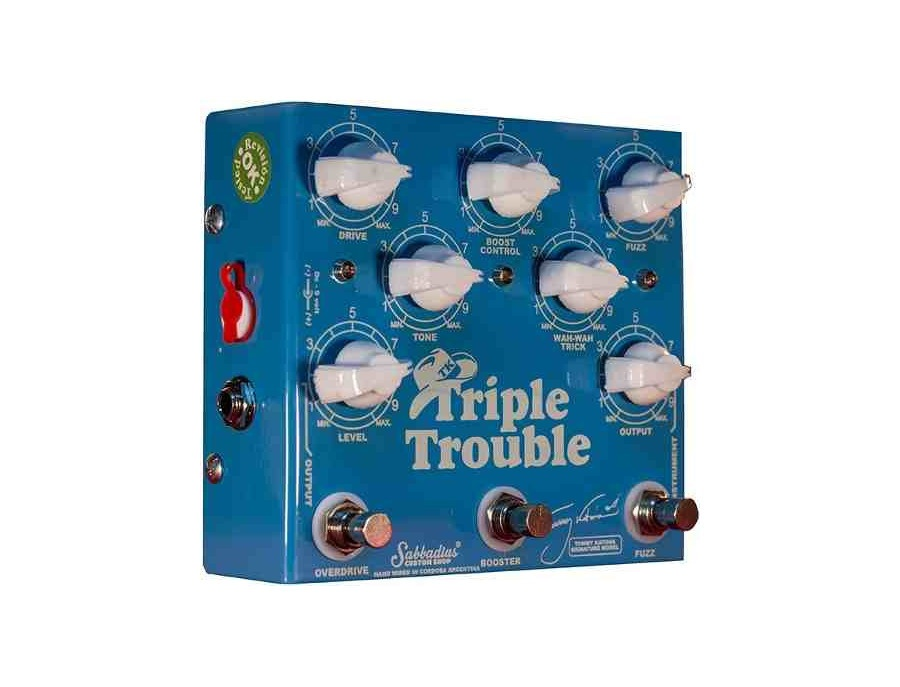 Pedal Sabbadius Tommy Katona Triple Trouble