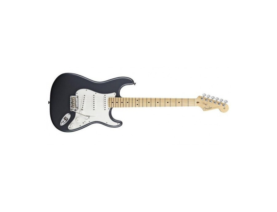 2012 Fender American Standard Stratocaster SSS - Charcoal Frost Metallic