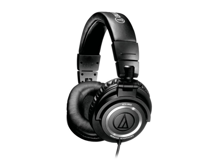 Audio technica ath m50 professional studio monitor headphones xl