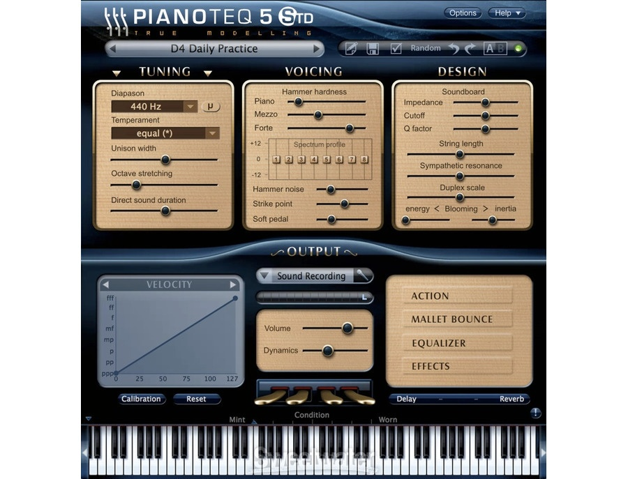 MODARTT Pianoteq 5 Software Piano Instrument