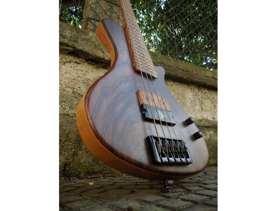 Pasquale Lodato signature bass with neodymium Q-tuner q2.0 pickup