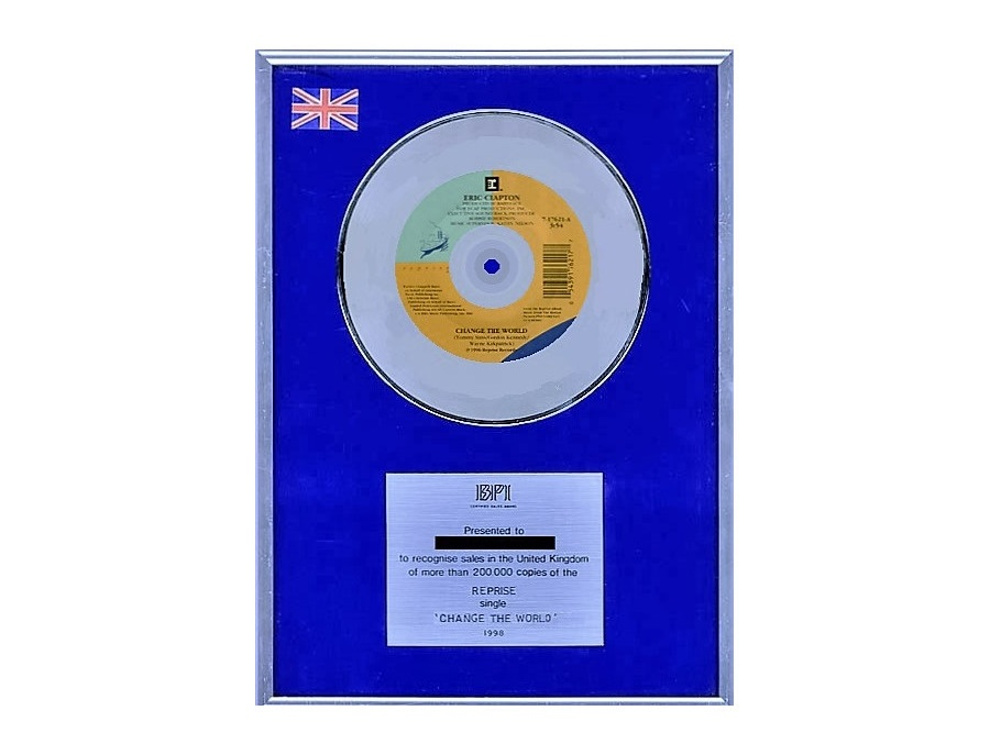 "BPI Silver Sales Award – ""Change the World"""