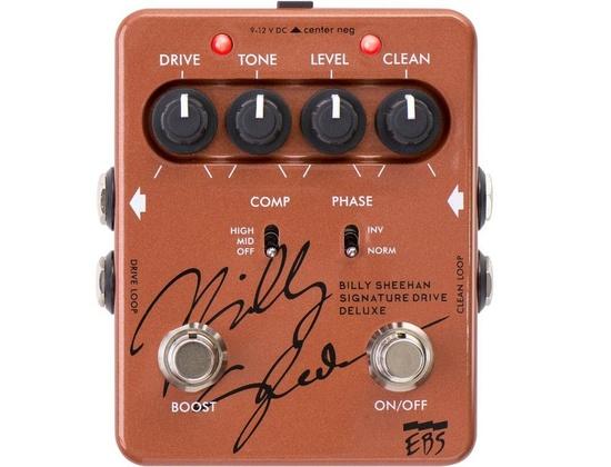 EBS Billy Sheehan Drive Deluxe