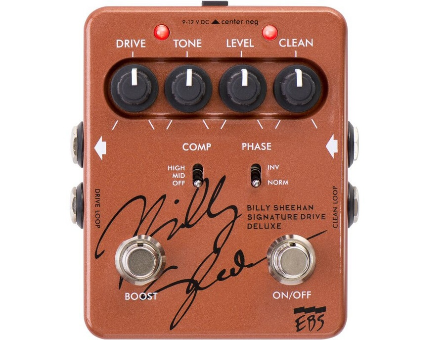 EBS Billy Sheehan Drive Deluxe