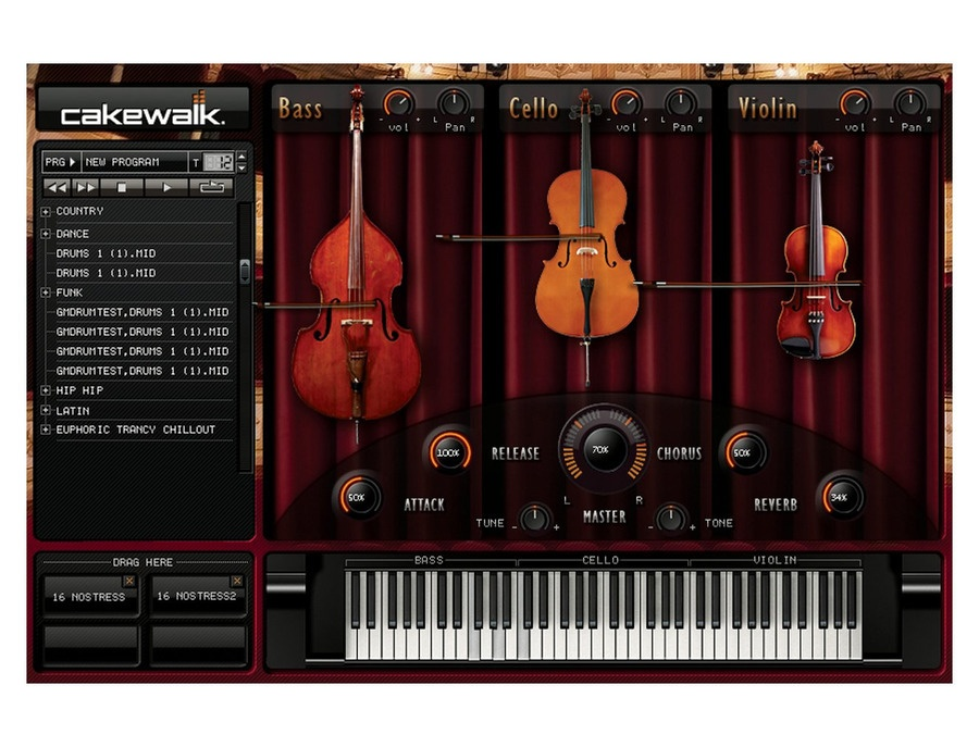 Cakewalk - Studio Instruments String Section VSTi