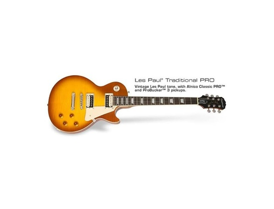 Epiphone Les Paul Traditional Pro Desertburst