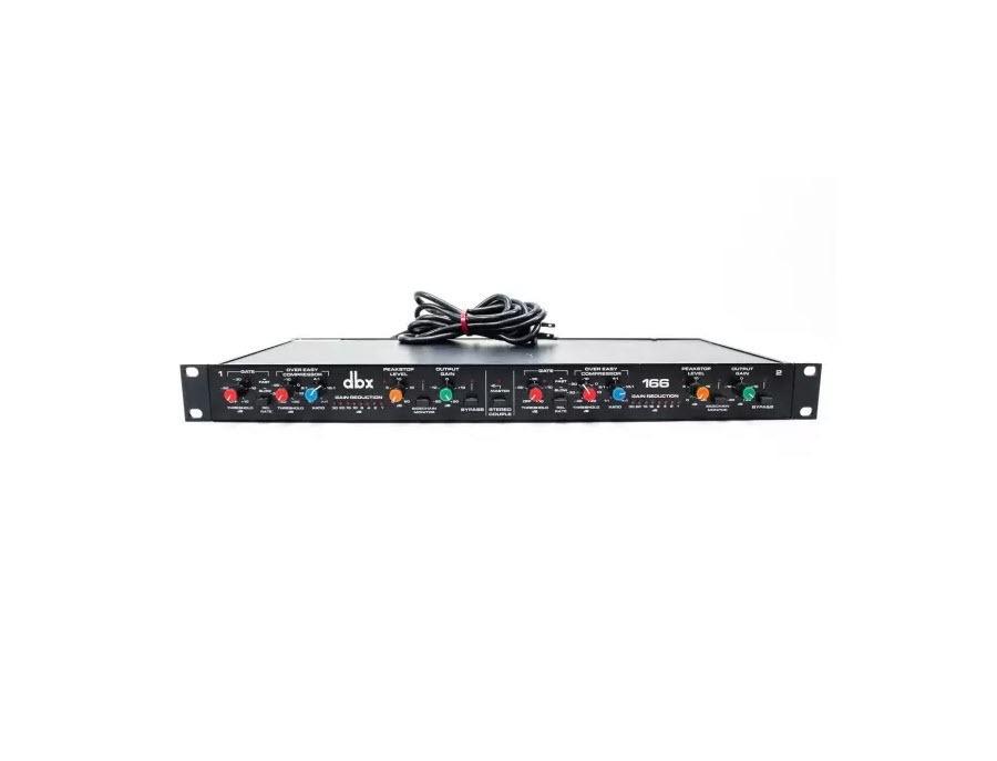 DBX 166 - 2 Channel Stereo Compressor
