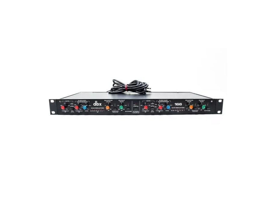 DBX 166 - 2 Channel Stereo Compressor