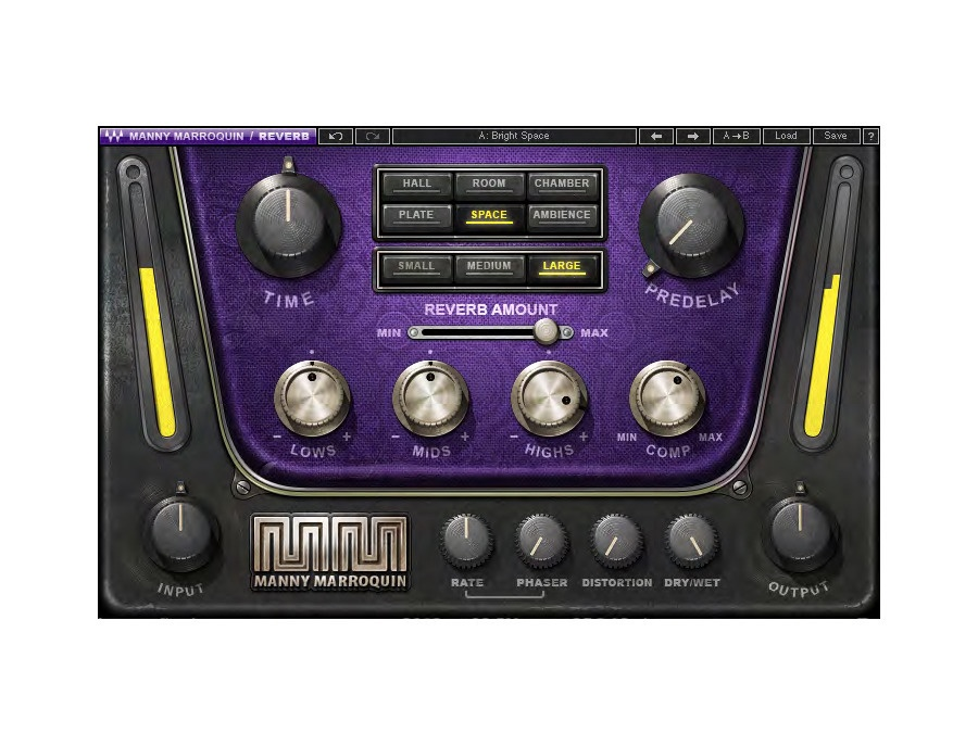 Waves manny marroquin reverb xl