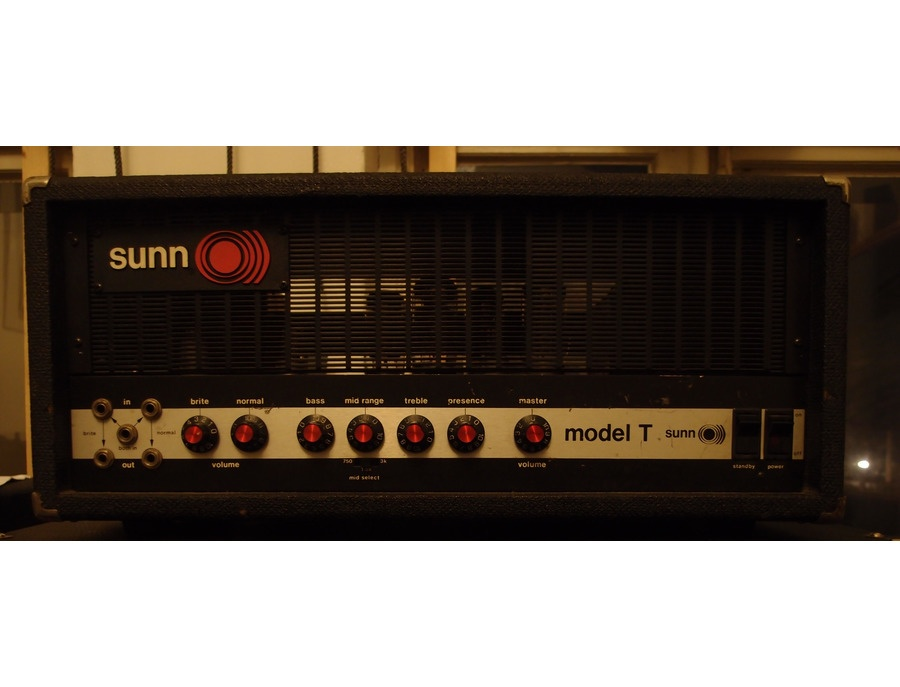 Sunn model T - 2nd generation