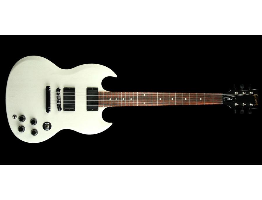 Gibson SGJ White