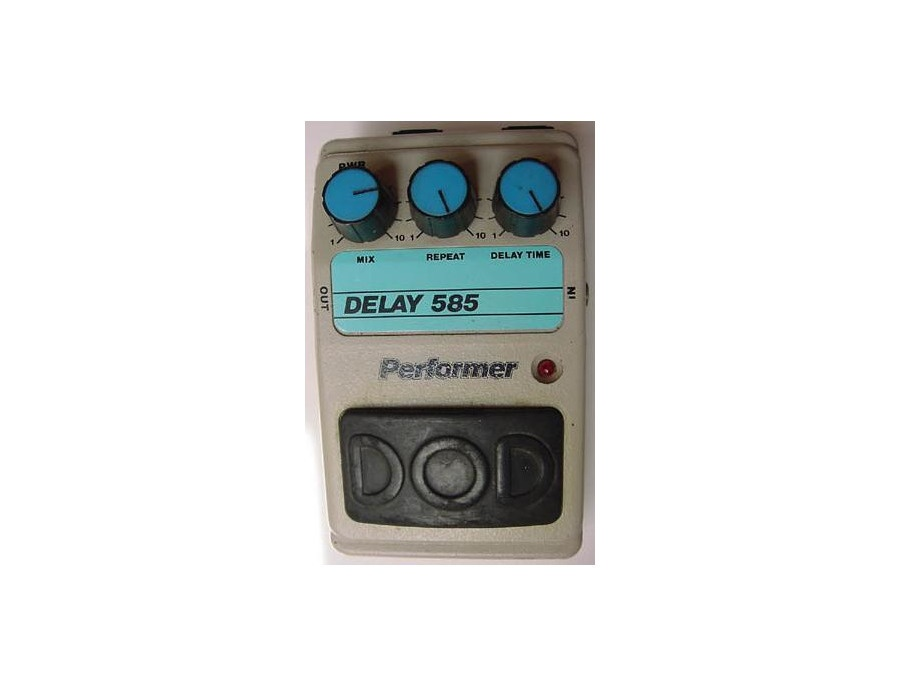 DOD 585 Performer Analog Delay Pedal