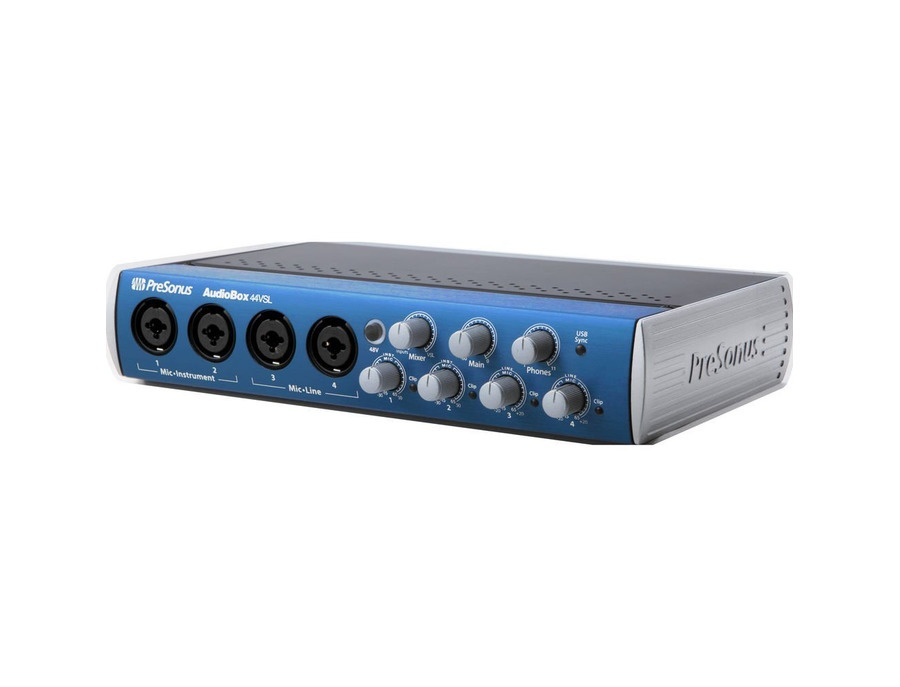 PreSonus AudioBox 44VSL 4x4 USB 2.0 Audio Interface