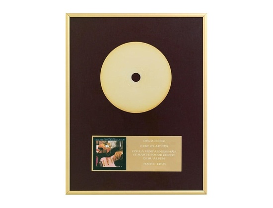 """AFYVE Gold Sales Award – """"Timepieces The Best Of Eric Clapton"""""""