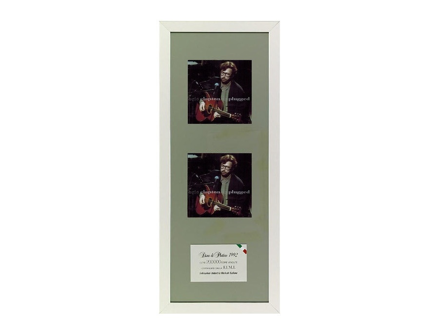 """FIMI 2x Platinum Sales Award – """"Unplugged"""""""