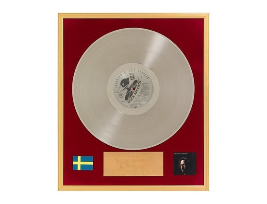 "IFPI Sweden Platinum Sales Award – ""Journeyman"""