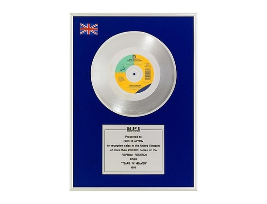 "BPI Silver Sales Award – ""Tears in Heaven"""