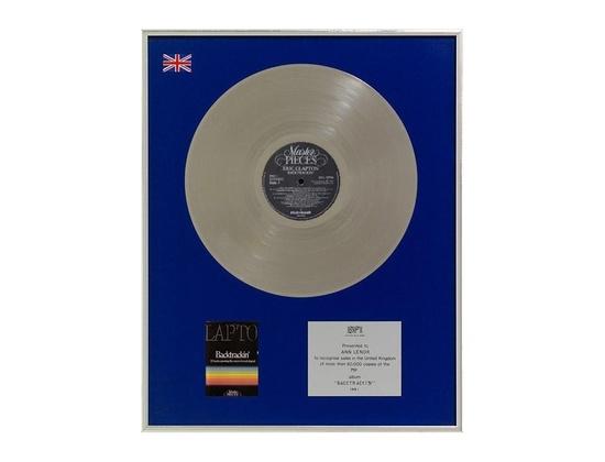 "BPI Silver Sales Award – ""Backtrackin'"""