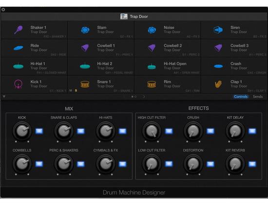 Apple Logic Drum Machine Designer