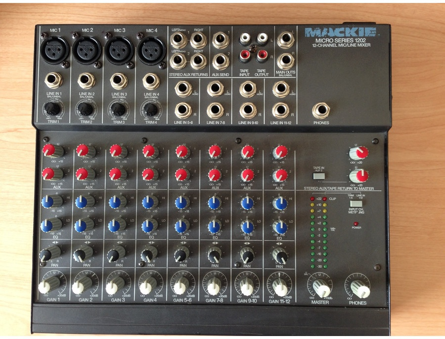 Mackie micro series 1202 first series xl