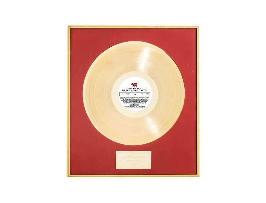 """IFPI Hong Kong Gold Sales Award – """"Timepieces The Best Of Eric Clapton"""""""
