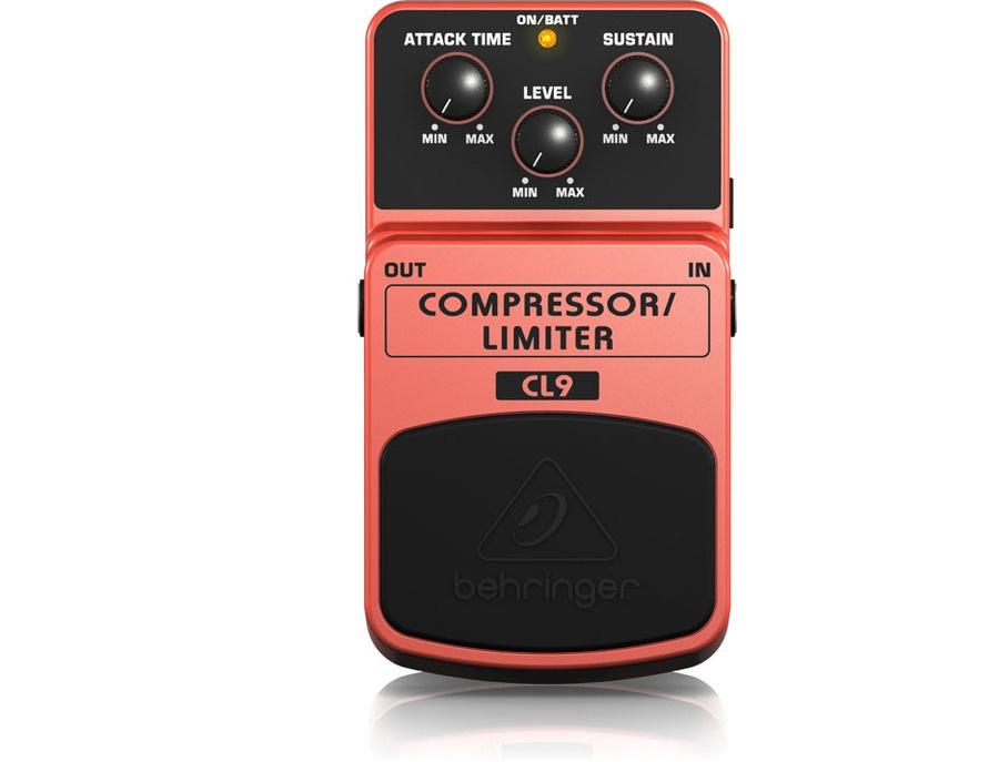 Behringer cl9 compressor limiter xl