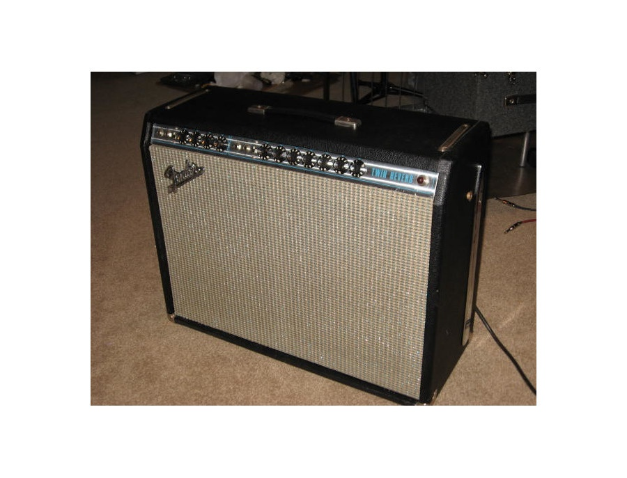 71' Fender Twin Reverb Silverface