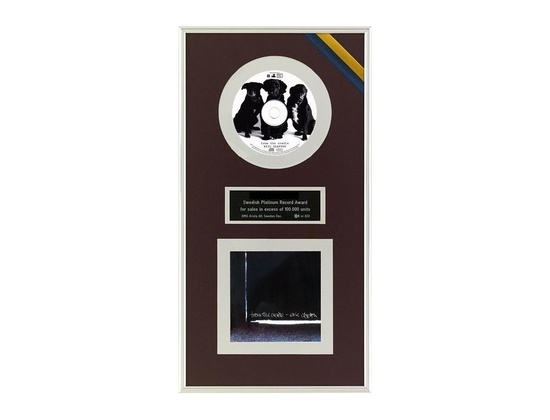 "IFPI Sweden Platinum Sales Award – ""From the Cradle"""