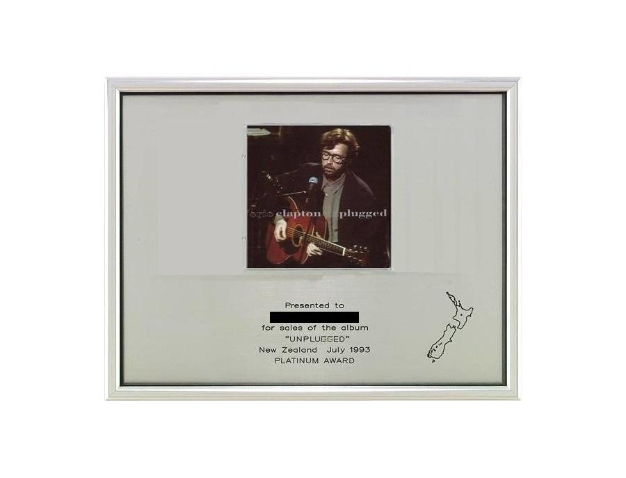 "RIANZ Platinum Sales Award – ""Unplugged"""