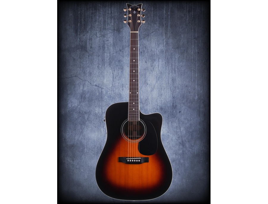 Shecter royal acoustic eletric guitar xl