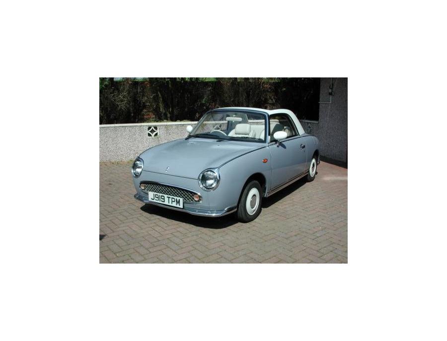1991 Nissan Pike Factory Figaro Grey