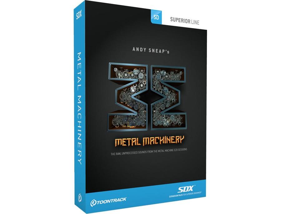 Superior Drummer Metal Machinery Expansion