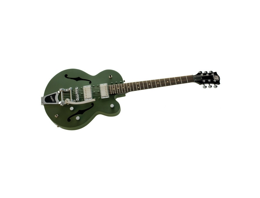 Normandy Archtop Army Green Bigsby