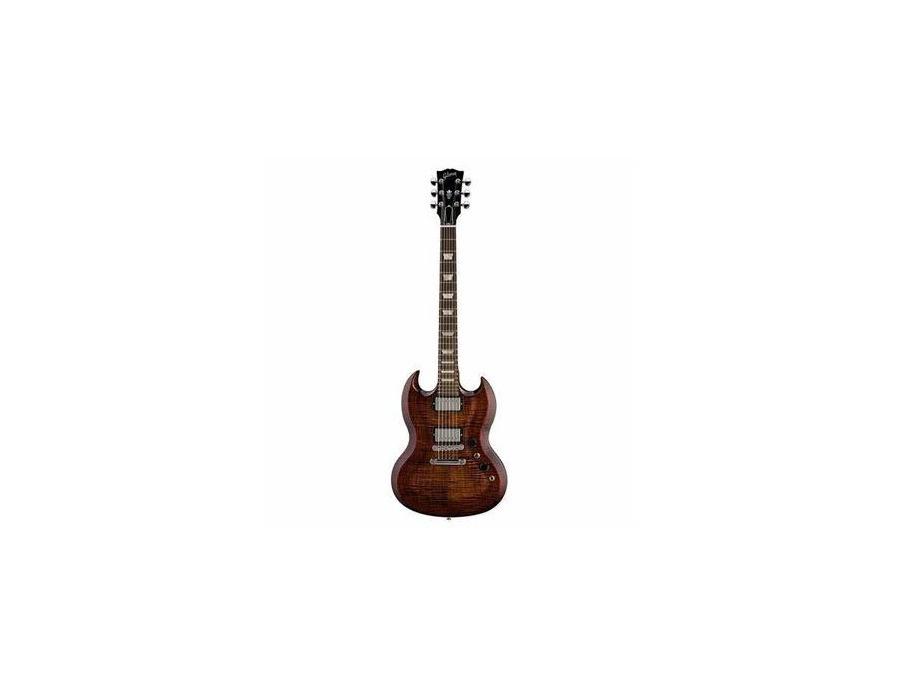 Gibson SG Carved Top - Autumn Burst.