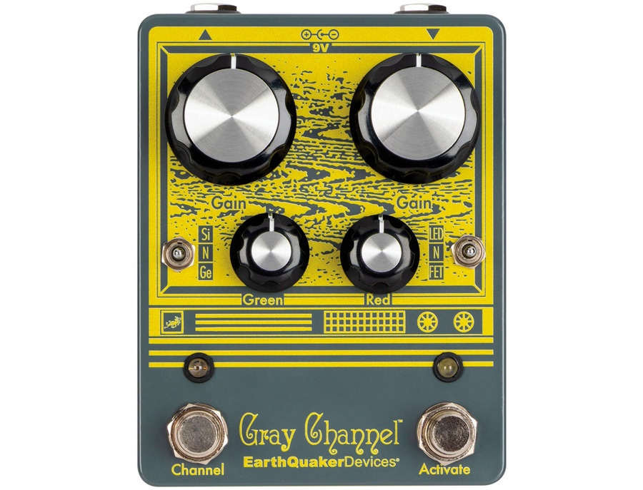 Earthquaker devices gray channel xl