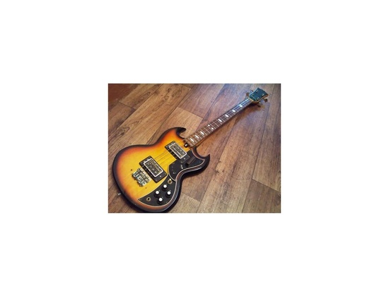 Kay K2-B (Late 60's/Early 70's) vintage sunburst