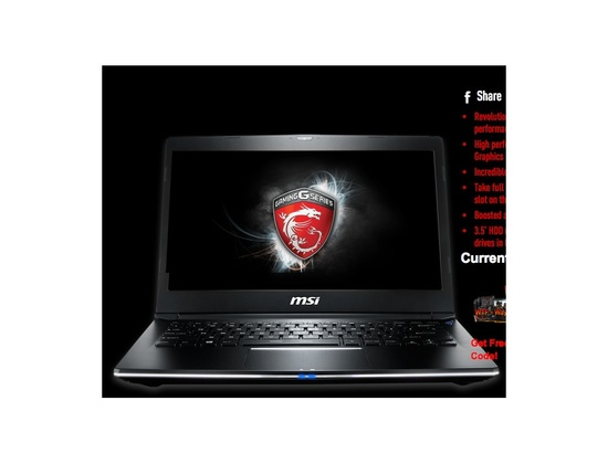 MSI shadow gs30