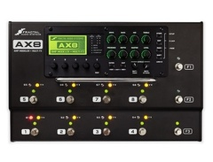 Fractal audio systems ax8 amp modeler multi fx processor s