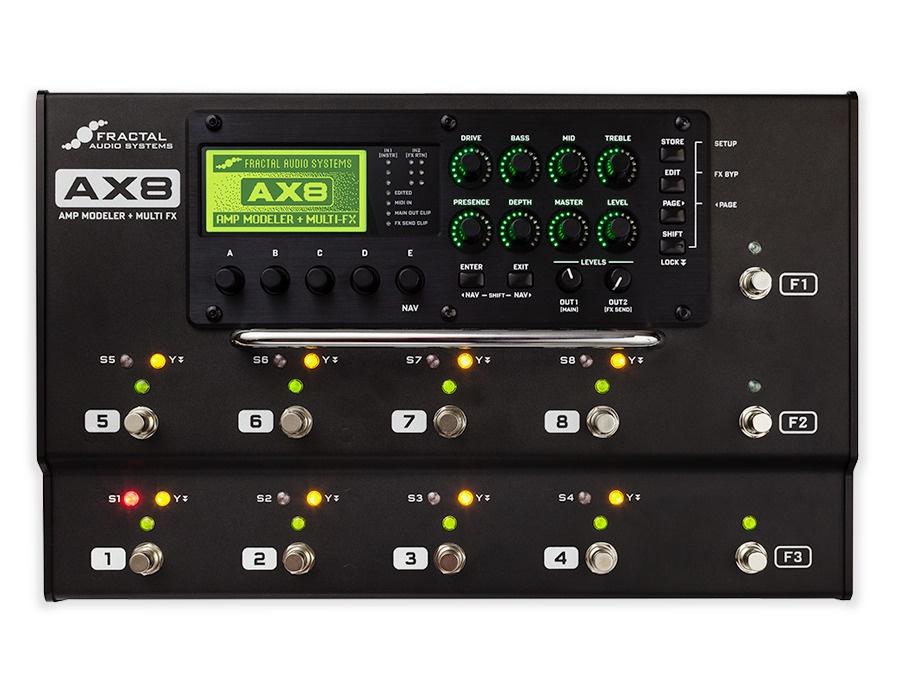 Fractal Audio Systems AX8 Amp Modeler/Multi-FX Processor