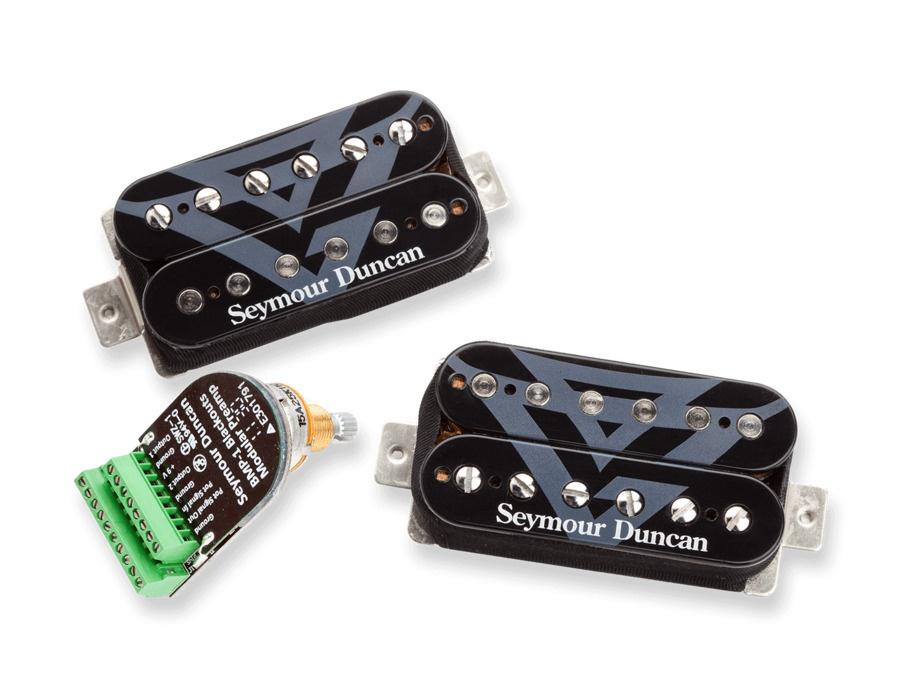 Seymour Duncan Gus G. FIRE Blackouts System Active Humbucker Pickups - Black