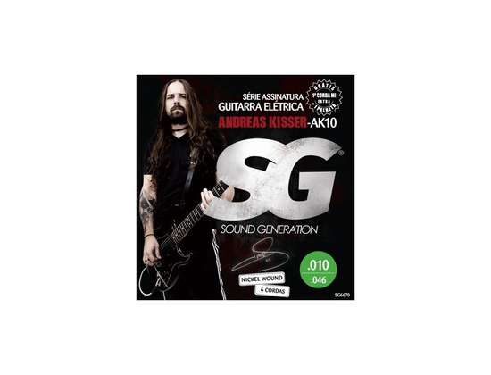 Sound Generation Electric Signature Andreas Kisser (10-46)