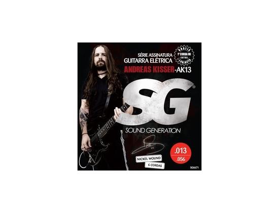 Sound Generation Electric Signature Andreas Kisser (13-56)
