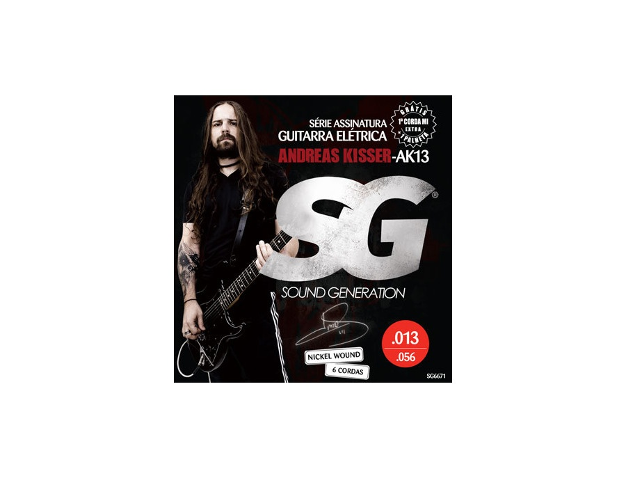Sound Generation Electric Signature Andreas Kisser (13-56)