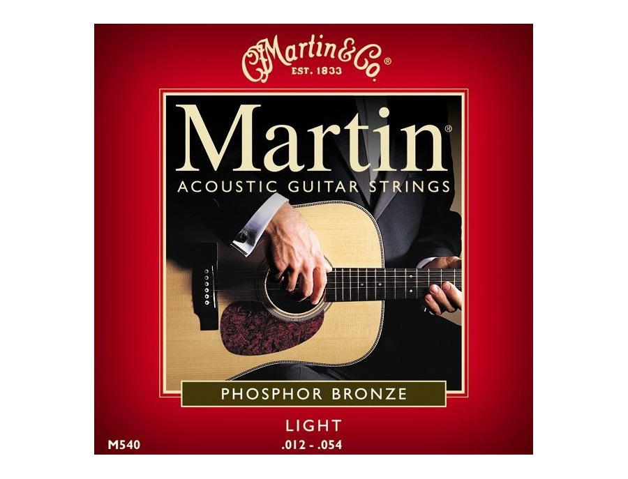 Martin Acoustic Guitar Strings M540