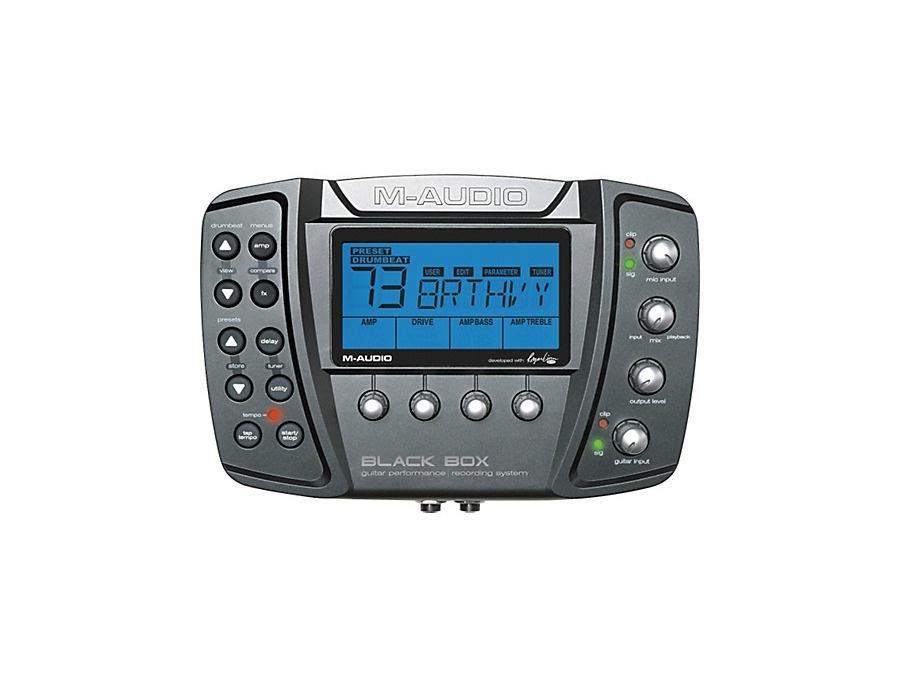 M-Audio Black Box Reloaded Guitar Multi Effects Processor