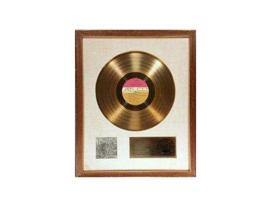 "RIAA Gold Sales Award – ""Wheels of Fire"""