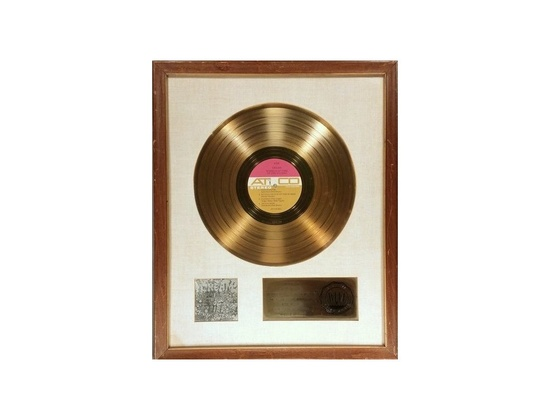 "RIAA Gold Sales Award – ""Wheels of Fire"""