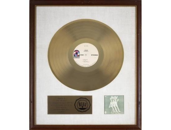 "RIAA Gold Sales Award – ""Goodbye"""