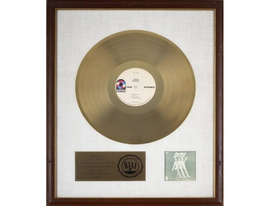 "RIAA Gold Sales Award – ""Goodbye"""