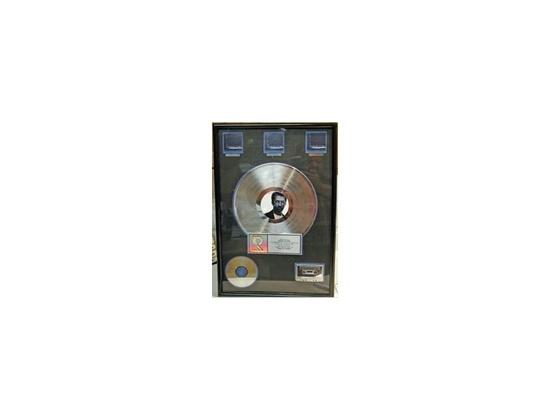 "RIAA 3x Platinum Sales Award – ""From the Cradle"" [2]"